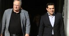 Ο Ν.Κοτζιάς ενημερώνει τον πρωθυπουργό για το Σκοπιανό – Τα πέντε ονόματα που πρότεινε ο Μ. Νίμιτς