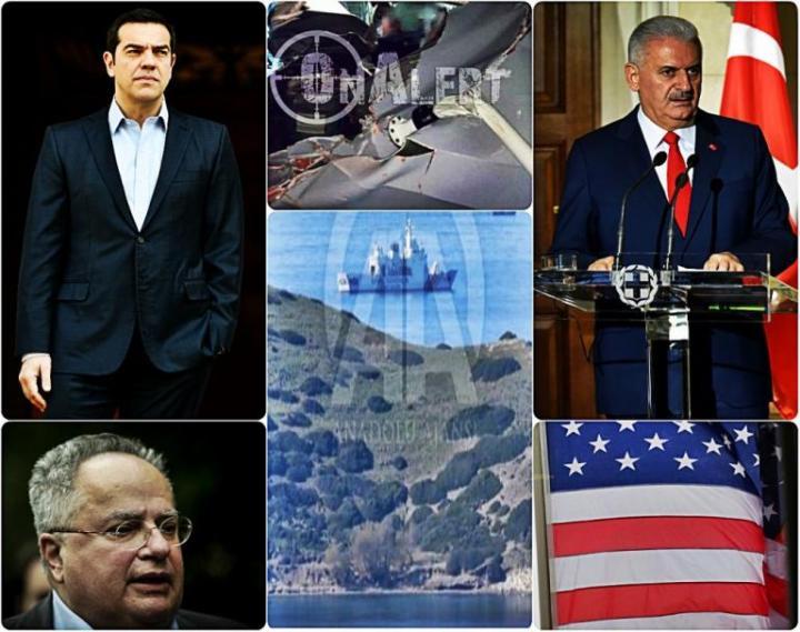 «Εκρηκτικό» 24ωρο με Ίμια, τουρκική «μονταζιέρα» και «πληρωμένες» απαντήσεις της Ελλάδας!