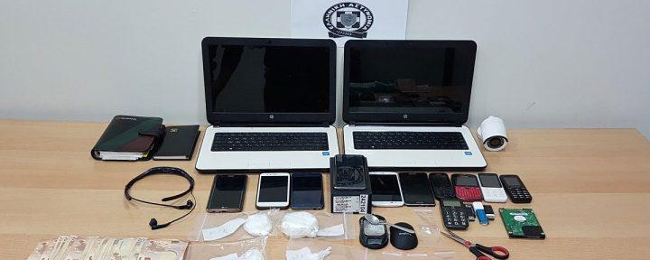 Εξαρθρώθηκε εγκληματική ομάδα που διακινούσε μεγάλες ποσότητες ναρκωτικών σε Κόρινθο και Λουτράκι
