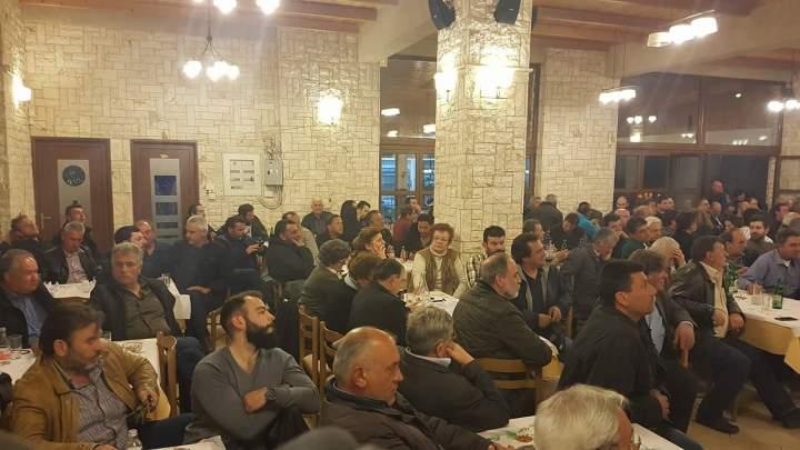 Έγινε η λαϊκή συνέλευση για το νερο στη Στυμφαλια