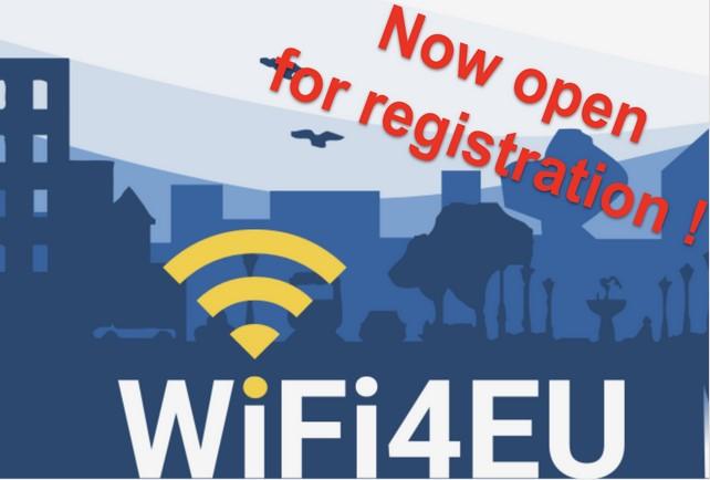 WiFi για δήμους – WiFi4EU Ξεκίνησαν οι εγγραφές
