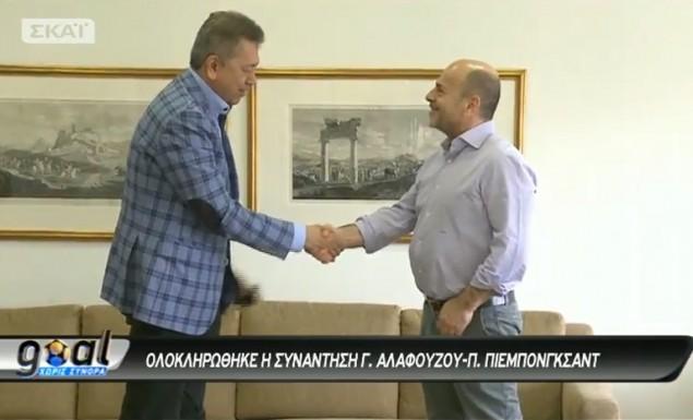 Αν χαλάσει το deal με Πιεμπονγκσάντ ο Αλαφούζος έχει plan b. Θα του πουλήσει τον ΣΚΑΪ.