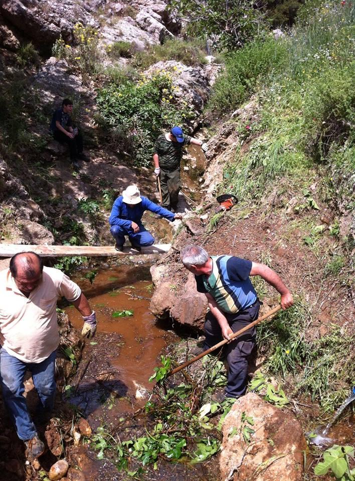 Εθελοντική δράση «Καθαρισμός & Εξωραϊσμών των πηγών και της κοίτης του Αστερίωνα