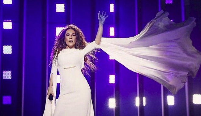 Eurovision 2018: Άψογη η τελευταία πρόβα της Γιάννας Τερζή