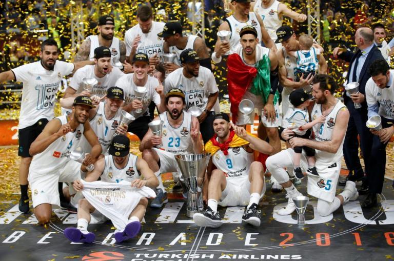 Η Ρεάλ Μαδρίτης πρωταθλήτρια Ευρώπης για 10η φορά