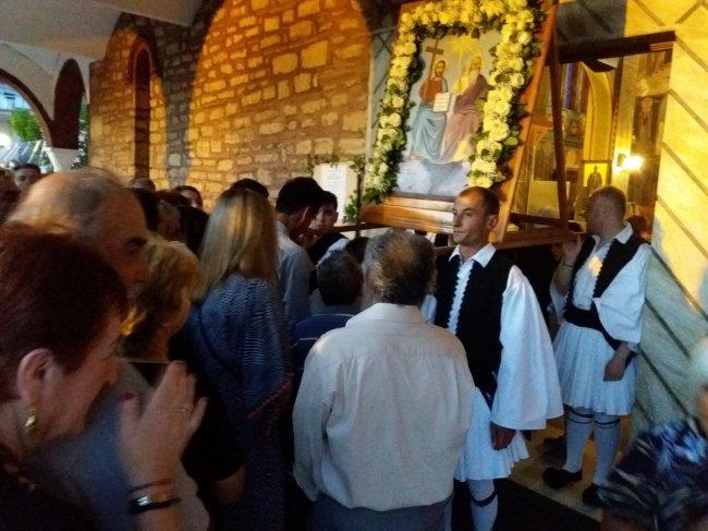 Πλήθος κόσμου κι επισήμων στην Αγία Τριάδα Σοφικού (φωτογραφίες)