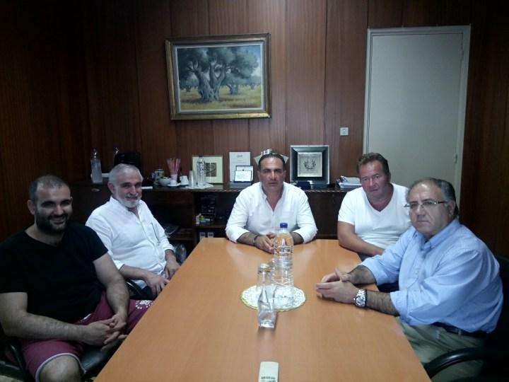 Συνάντηση Πρόεδρου Επιμελητηρίου Κορινθίας με τη Συντεχνία Αρτοποιών Ν. Κορινθίας