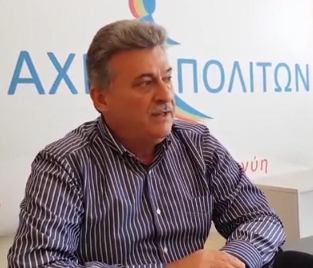Νανόπουλος: Με υπογραφές κατοίκων που μαζεψαμε ήρθε  το θέμα  της ιδιωτικής  φύλαξης  στα Εξαμίλια