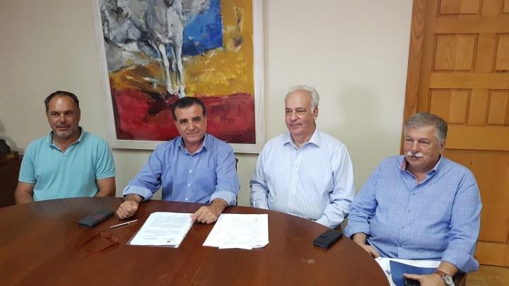 Υπογράφηκε η σύμβαση για το εργοστάσιο κομποστοποιησης