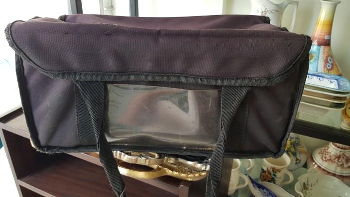 Βρέθηκε τσάντα ντελιβερι στην Κορινθο