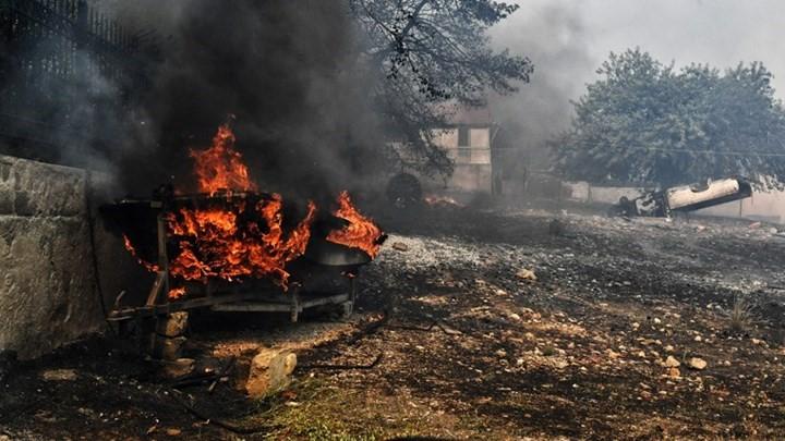 O Δήμος Λουτρακίου και το Όλοι μαζί μπορούμε για τους πυροπληκτους
