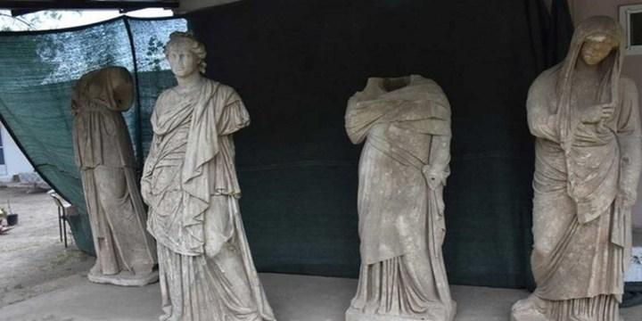 Αρχαιοελληνική λάμψη στην Τουρκία: Ανακαλύφθηκαν έξι αγάλματα 2.000 ετών στο Αϊδίνι