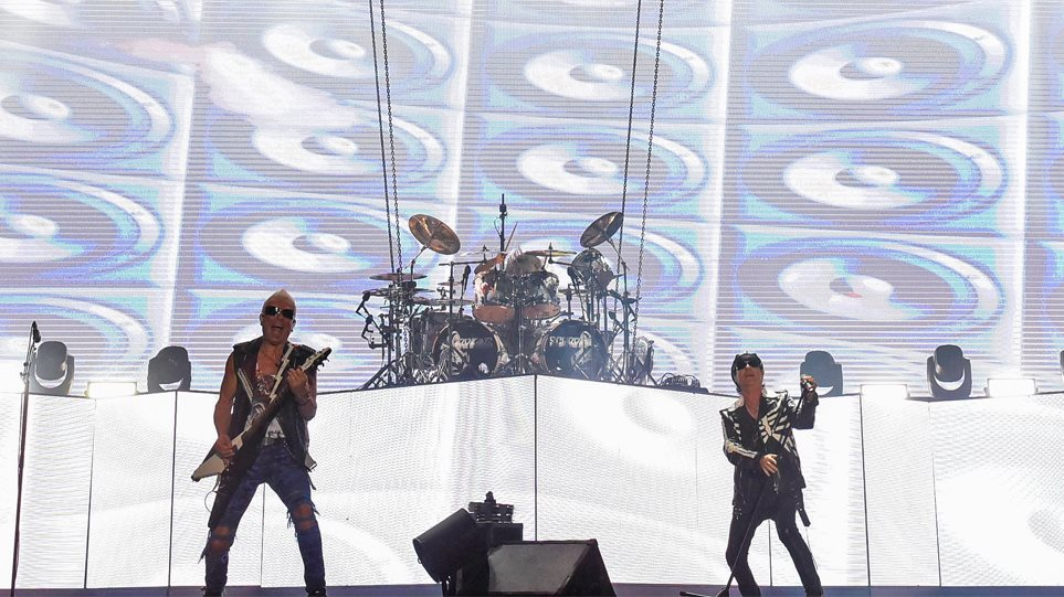 nJoy radio:Αποθέωση στο Καλλιμάρμαρο: Άλλη μια συναυλία των Scorpions πέρασε στην ιστορία