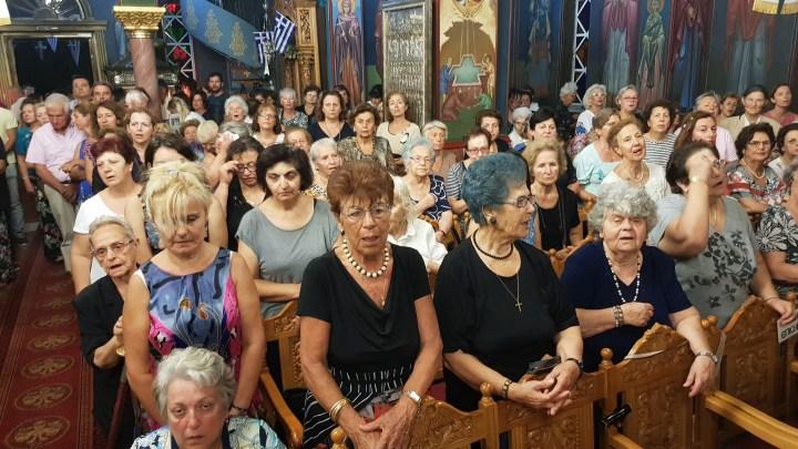 Λουτράκι: Η εορτή της Παναγίας της Γιάτρισσας