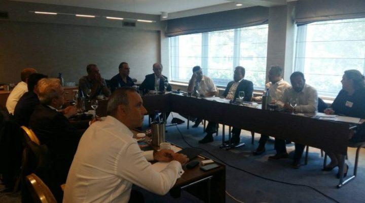 Συνάντηση προέδρων Επιμελητηρίων της Πελοποννήσου για την«ΠΕΛΟΠΟΝΝΗΣΟΣ 2018»