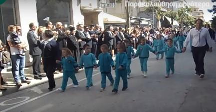 Δειτε την παρέλαση του Ξυλοκάστρου