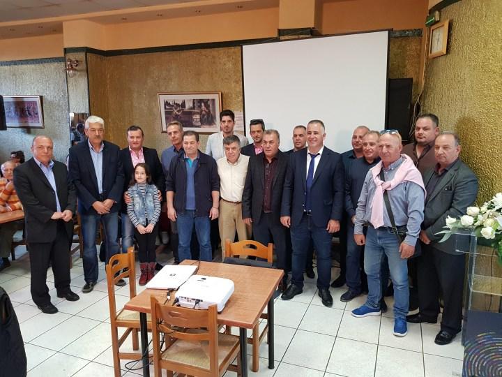 Παρουσίασε τη διακύρηξη των αρχών και τους πρώτους 16 υποψήφιους ο Θανάσης Μανάβης