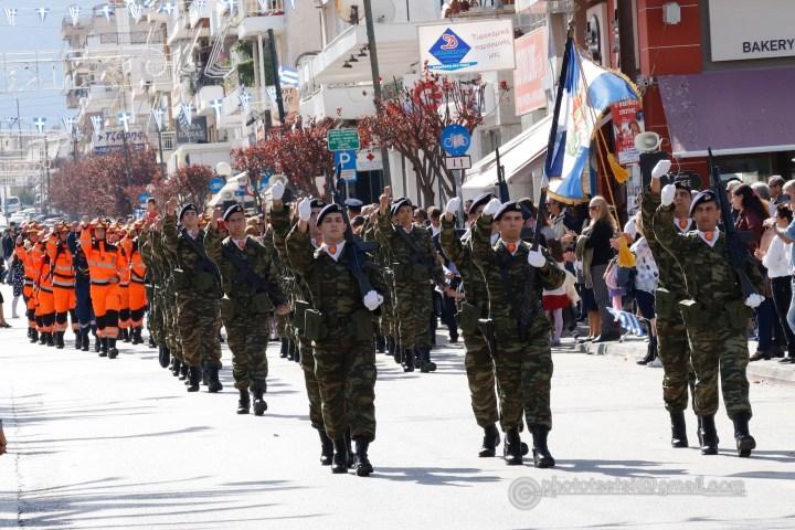 Εικόνες της παρέλασης της Κορίνθου από τη Μαρία Κροντηρη
