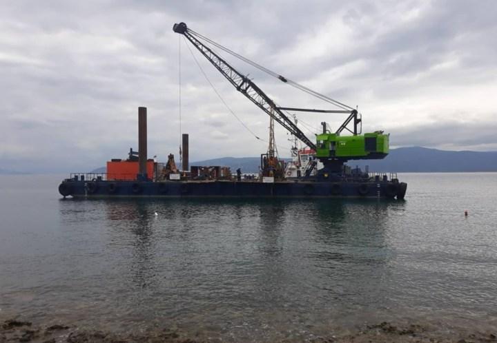 Ξεκίνησαν σήμερα οι γεωτρήσεις για το Αλιευτικό καταφύγιο Αγίων Θεοδώρων