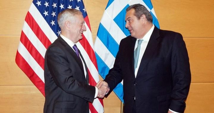 Συνάντηση Καμμένου-Μάτις – Νέες αμυντικές συμφωνίες και ενίσχυση της τριμερούς Ελλάδας-Κύπρου-Ισραήλ