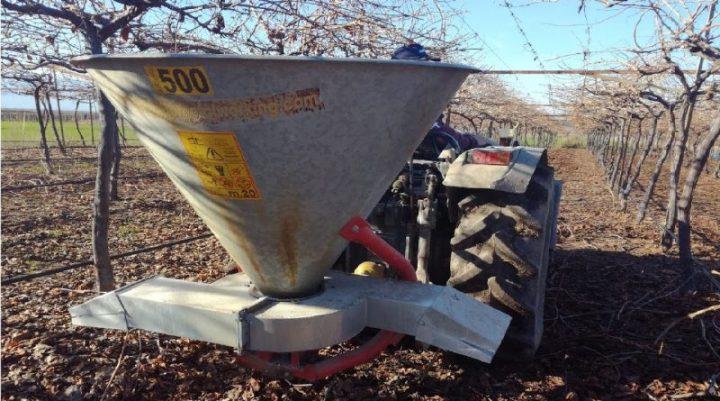 Η ΕΑΣ Νεμέας θα παρέχειστους παραγωγούςλιπασματοδιανομέα εδάφους