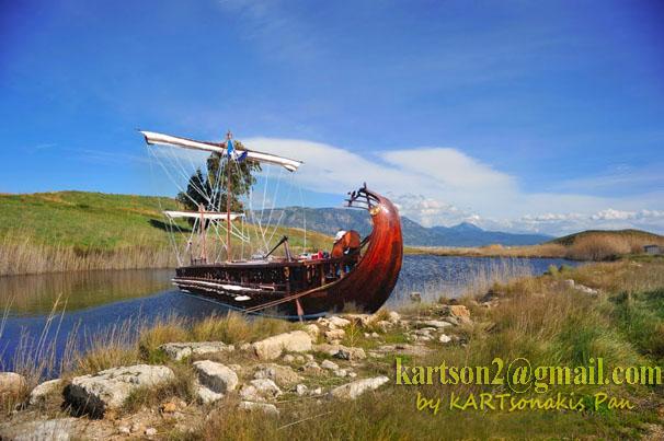 Κόρινθος- Αρχαίο λιμάνι Λεχαίου: Εκεί που ελλιμενίζονταν οι τριήρεις.
