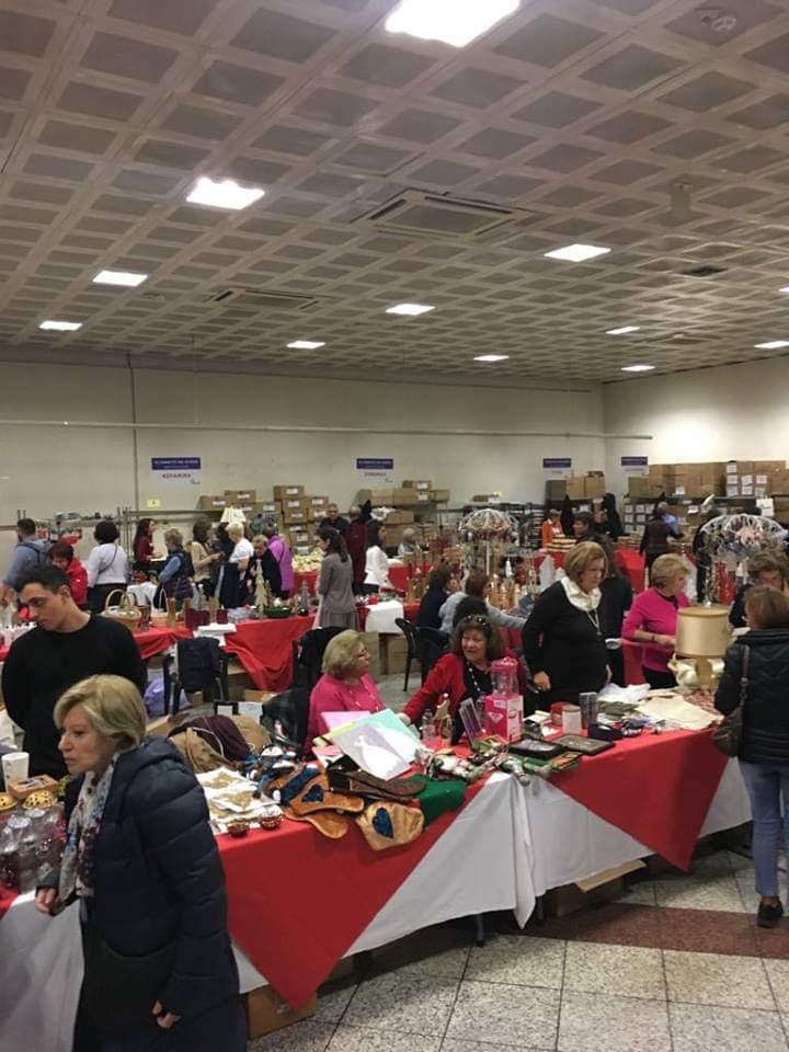 Το Ροταρυ στηρίζειτο Χριστουγεννιάτικο Bazaar του Σωματείου Γονέων και Κηδεμόνων Ατόμων με Αναπηρία «Το Εργαστήρι»