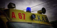 Θανατηφόρο τροχαίο στην εθνική οδό Αθηνών–Κορίνθου στα Μεγαρα
