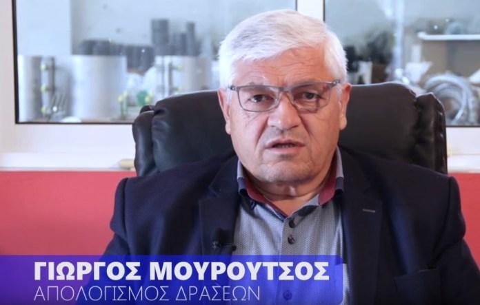Γεώργιος Μουρούτσος – Απολογισμός Δράσεων