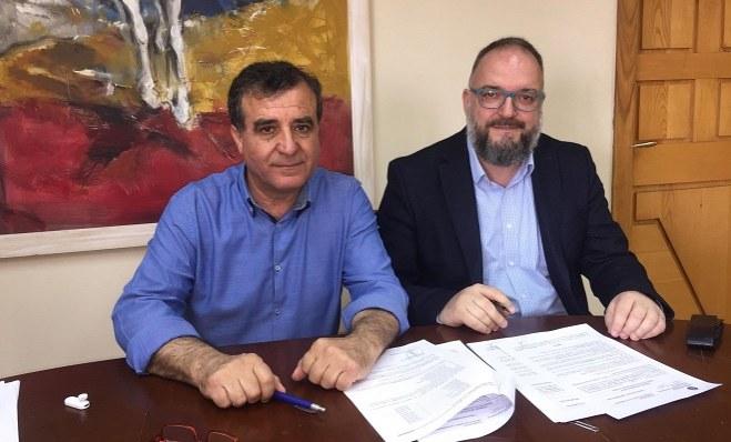 Υπογράφηκε η Σύμβαση για τα γήπεδα τένις του Δ. Κορινθίων στον Άγιο Γεώργιο