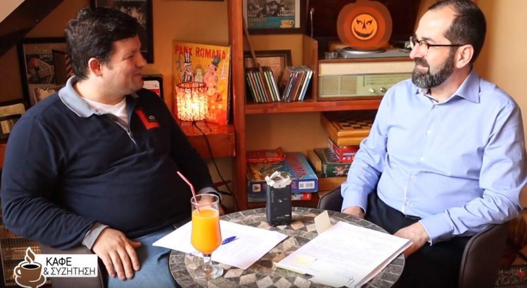 Καφές και συζήτηση με τον υποψήφιο Δήμαρχο Σικυωνίων Μάρκο Λέγγα