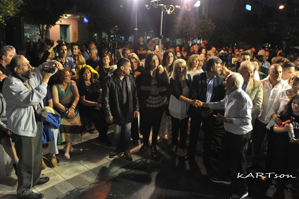 Κατέκλυσε τον κεντρικό πεζόδρομο ο κόσμος στην ομιλία του Νανόπουλου! (Φωτογραφίες)