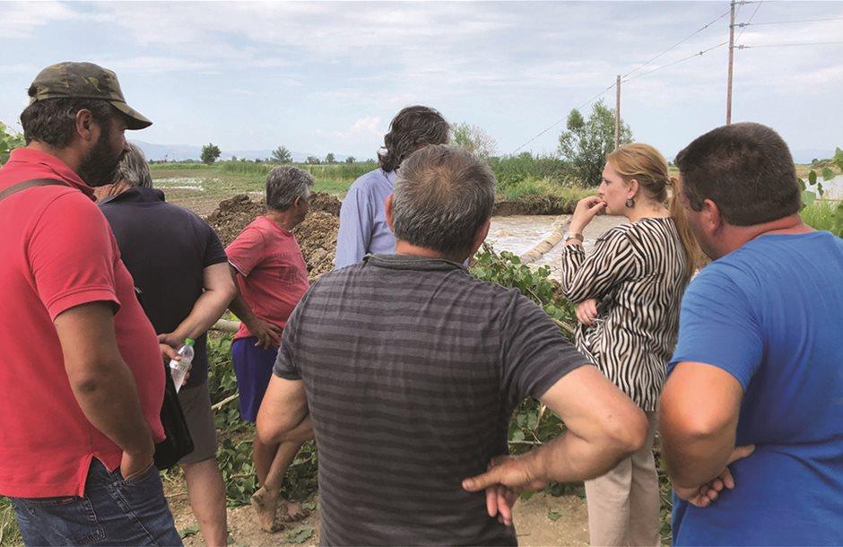 Μεγάλη βοήθεια για τους αγρότες της Κορινθίας η ένταξη στο Deminimis