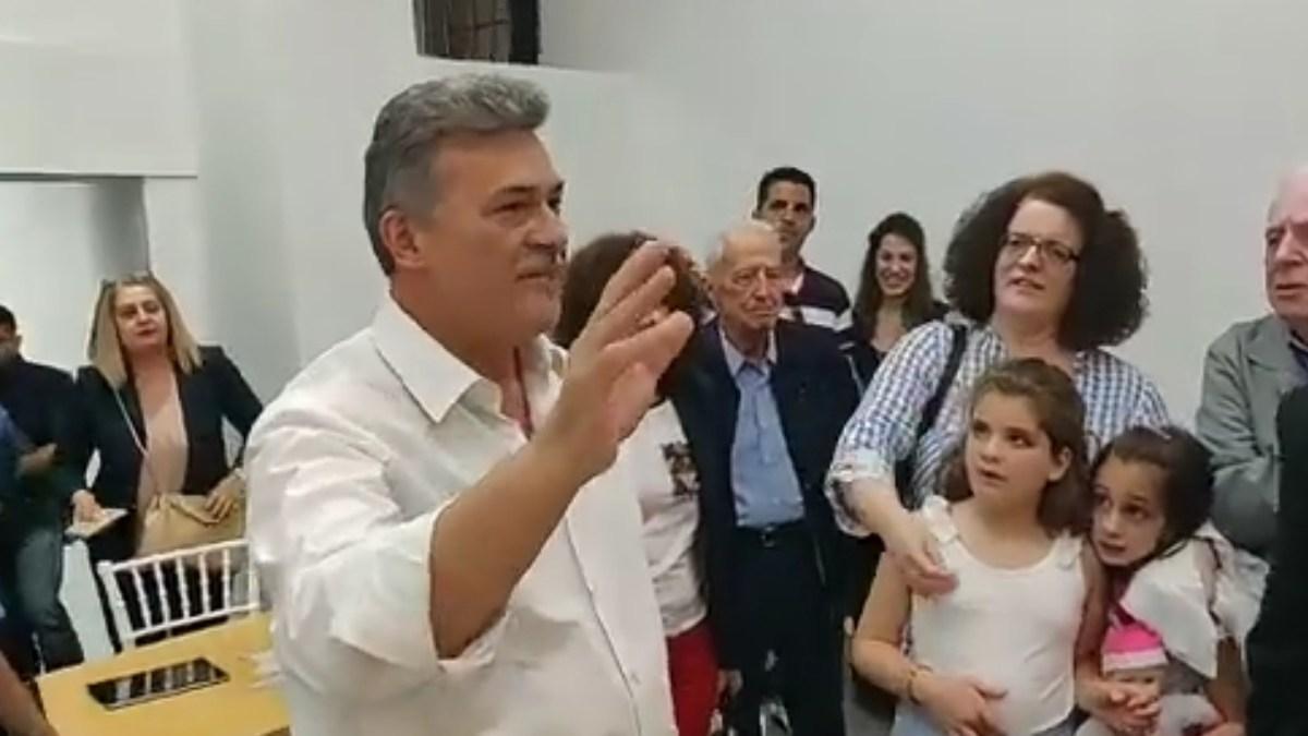 Ανακοίνωσε ο Νανοπουλος ότι είναι ο νέος δήμαρχος Κορινθιων