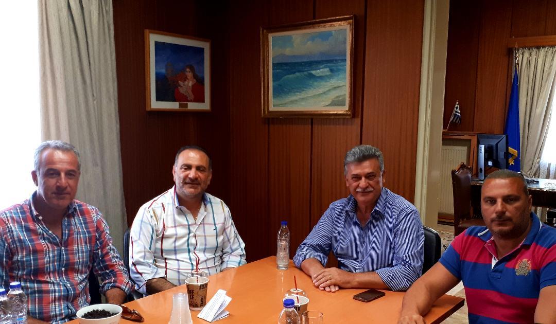 Το Επιμελητηρίου Κορινθίας επισκέφθηκε ο νεοεκλεγείς Δήμαρχος Κορινθίων, κ. Βασίλης Νανόπουλος