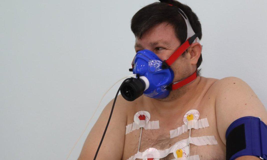 Καναμε μια πληρη εξεταση καρδιοαναπνευστικη δοκιμασια κοπωσης και σας μεταφερουμε τις εμπειριες