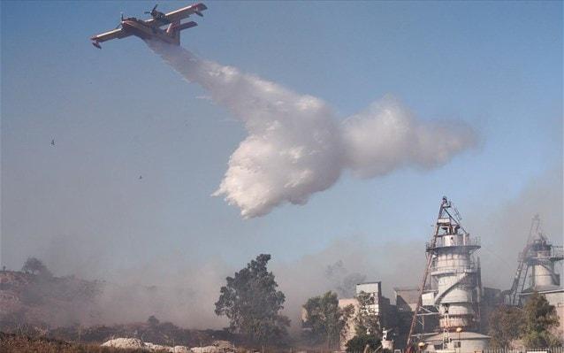 Υψηλός ο κίνδυνος εκδήλωσης πυρκαγιάς σε Ανατολικό Αιγαίο, Δωδεκάνησα και Κρήτη