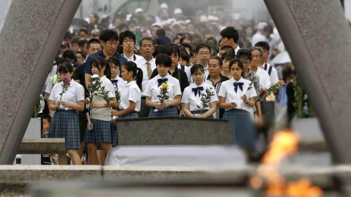 Η Χιροσίμα δεν ξεχνά – τίμησε τα θύματα της ατομικής βόμβας
