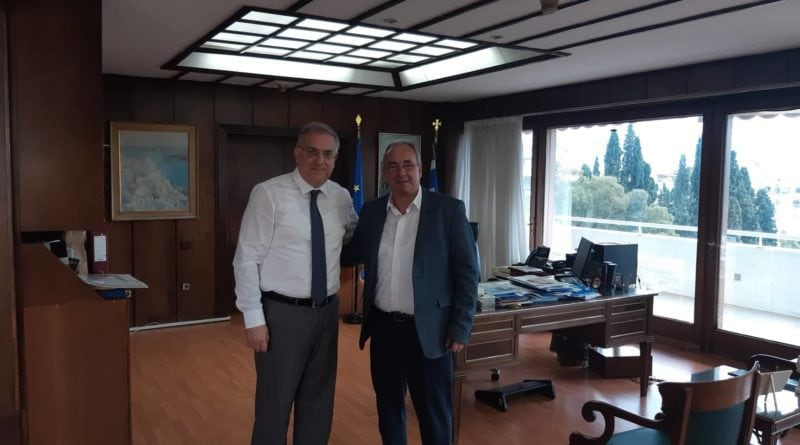 Συνάντηση Δημάρχου Νεμέας με τον Υπουργό Εσωτερικών