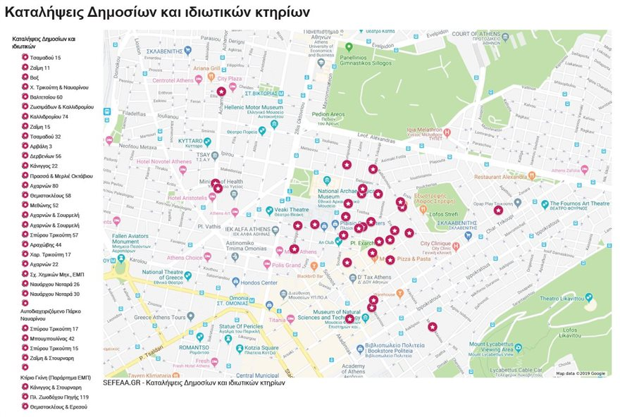 Εκκενώστε τις καταλήψεις: Το σχέδιο της ΕΛΑΣ για 40 κτήρια στην Αθήνα