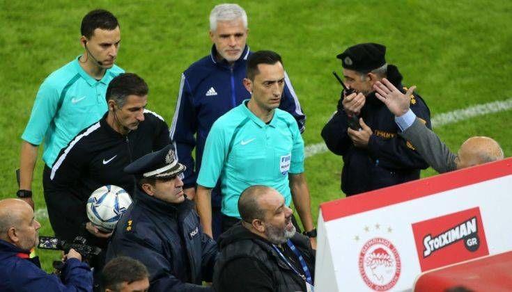Καταγγελία ΠΑΟΚ: Παράγοντες του Ολυμπιακού «μπούκαραν» στα αποδυτήρια των διαιτητών