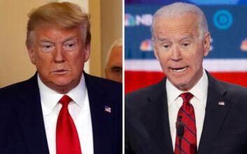 Προεδρικές εκλογές ΗΠΑ: Μπροστά με 11 μονάδες ο Μπάιντεν έναντι του Τραμπ