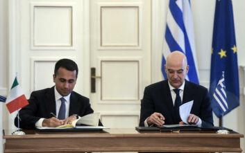 Μετά την Ιταλία ξεκινούν συζητήσεις με Αίγυπτο και Αλβανία για ΑΟΖ