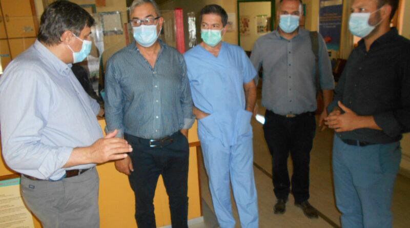 Επίσκεψη κλιμακίου του ΣΥΡΙΖΑ στο Κέντρο Υγείας Νεμέας