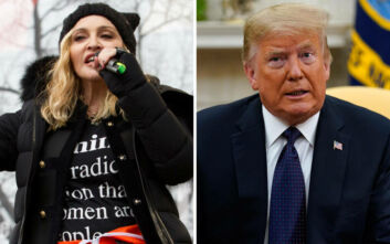 Μαντόνα κατά Τραμπ: Ένας ναζί, ψυχοπαθής βρίσκεται στον Λευκό Οίκο
