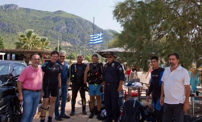 Tο Loutraki Dive Club καθάρισε την Παραλία Ψάθας