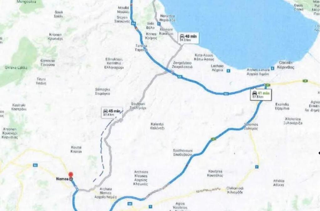 Προγραμματική σύμβαση για τον δρόμο Νεμέα – Κιάτο