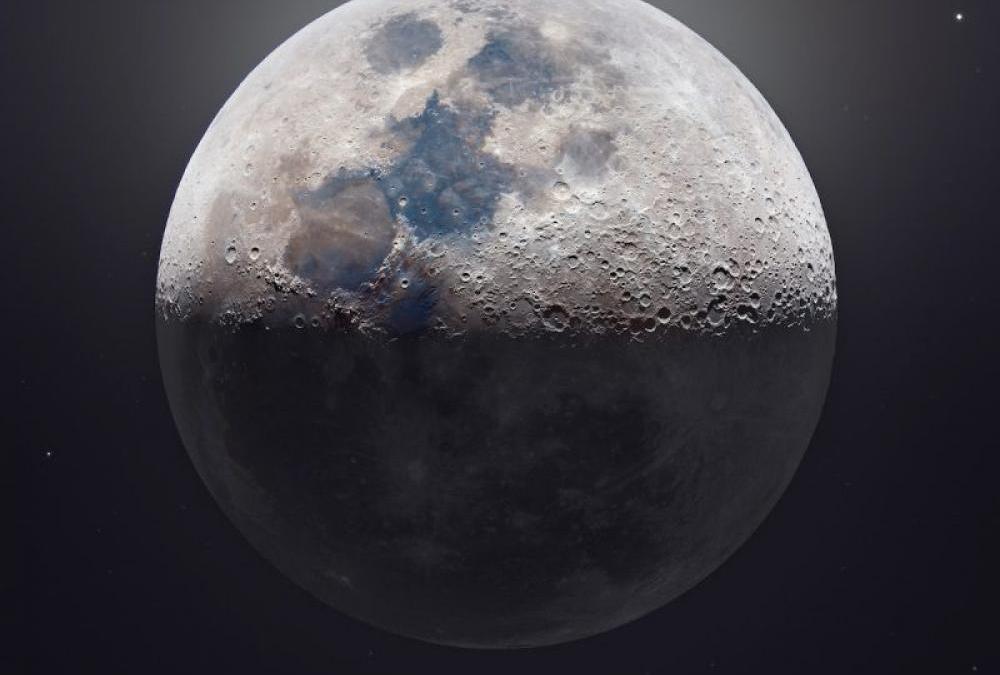 Φωτογραφία του φεγγαριού 85 megapixel δείχνει με απίστευτη λεπτομέρεια τους κρατήρες του