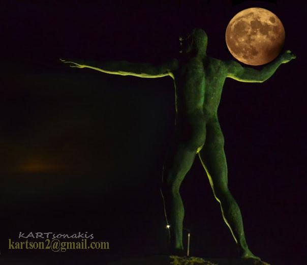 Η Πανσέληνος σήμερα, στον Ποσειδώνα.
