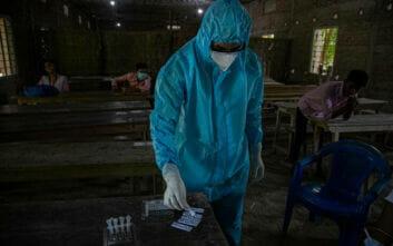 Το 8% των ασθενών ευθύνεται για το 60% των μολύνσεων με κορονοϊό στην Ινδία